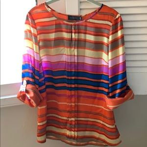 Striped limited blouse